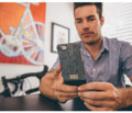 Hex Focus Case for iPhone 7 - Black / White Stingray