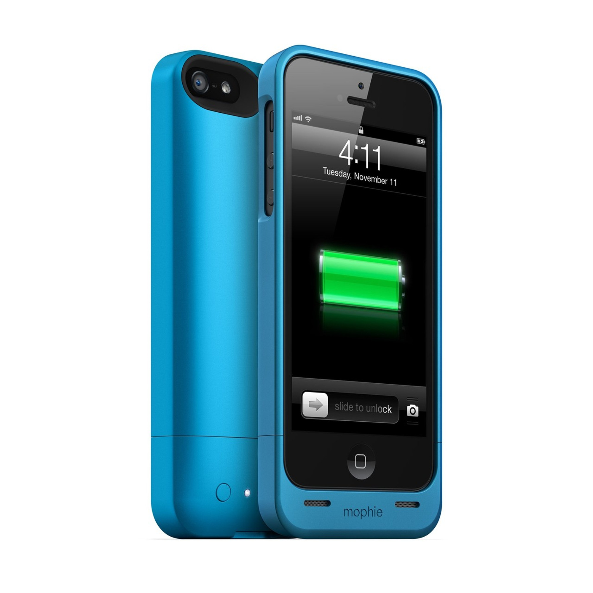 separation shoes b2b7a 38832 mophie juice pack helium for iPhone 5S / 5 - blue