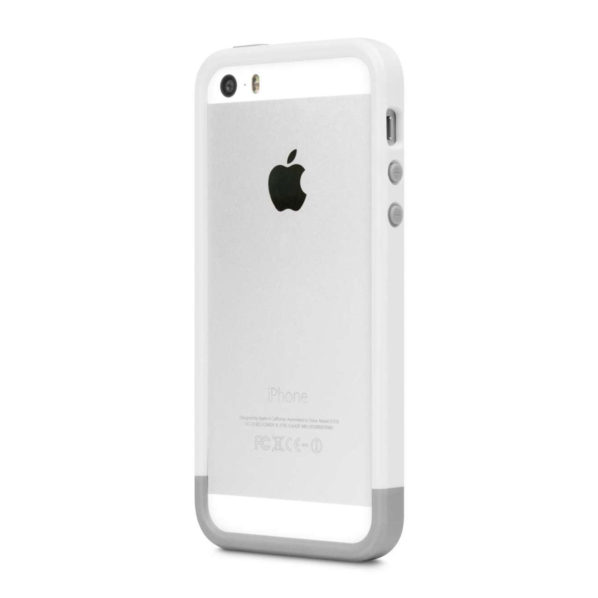 huge discount b24fd 11335 Incase Frame for iPhone 5S / 5 - White / Gray
