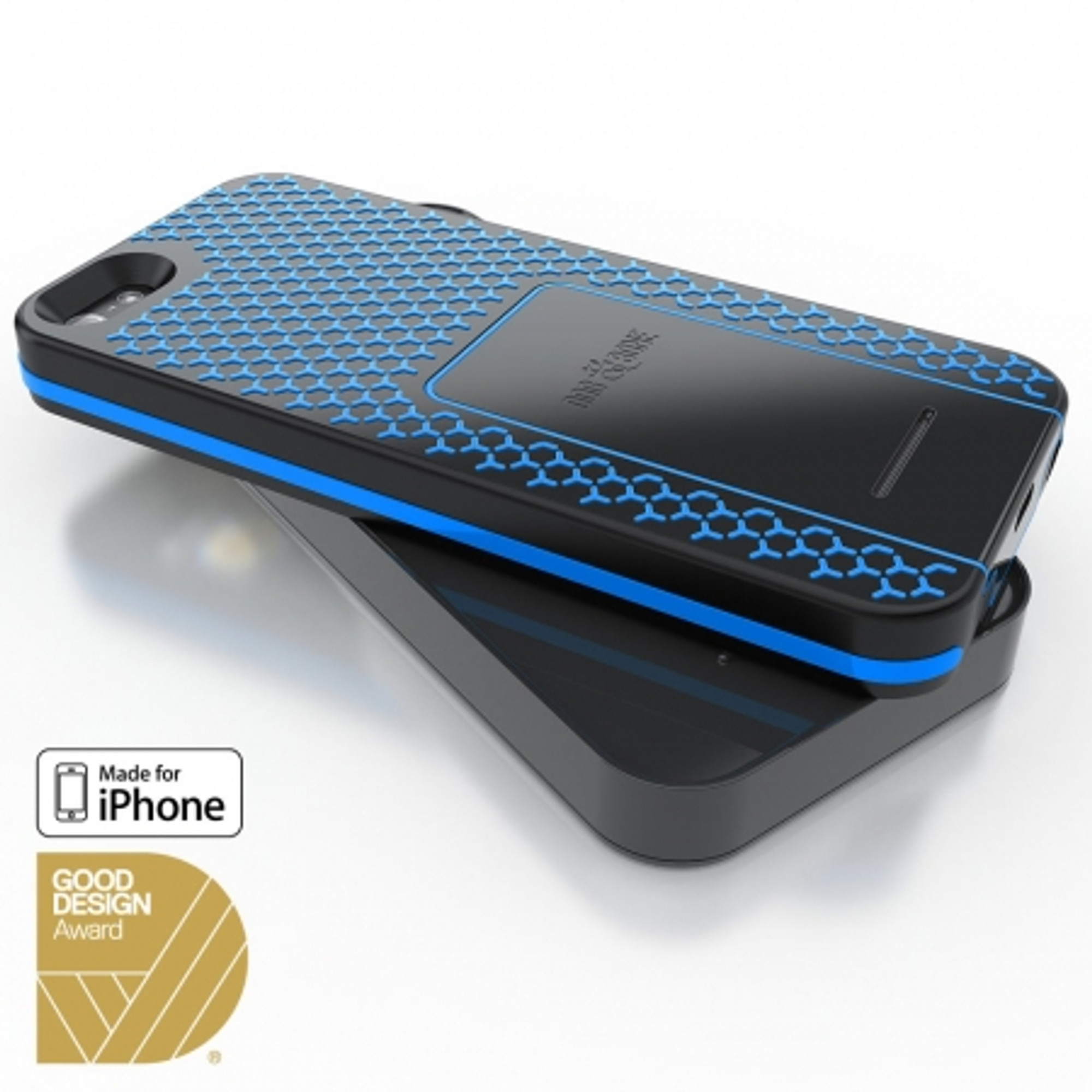 buy online 452d8 9140c Dog & Bone Wireless Charging Case + Pad for iPhone 5S / 5 - Blue