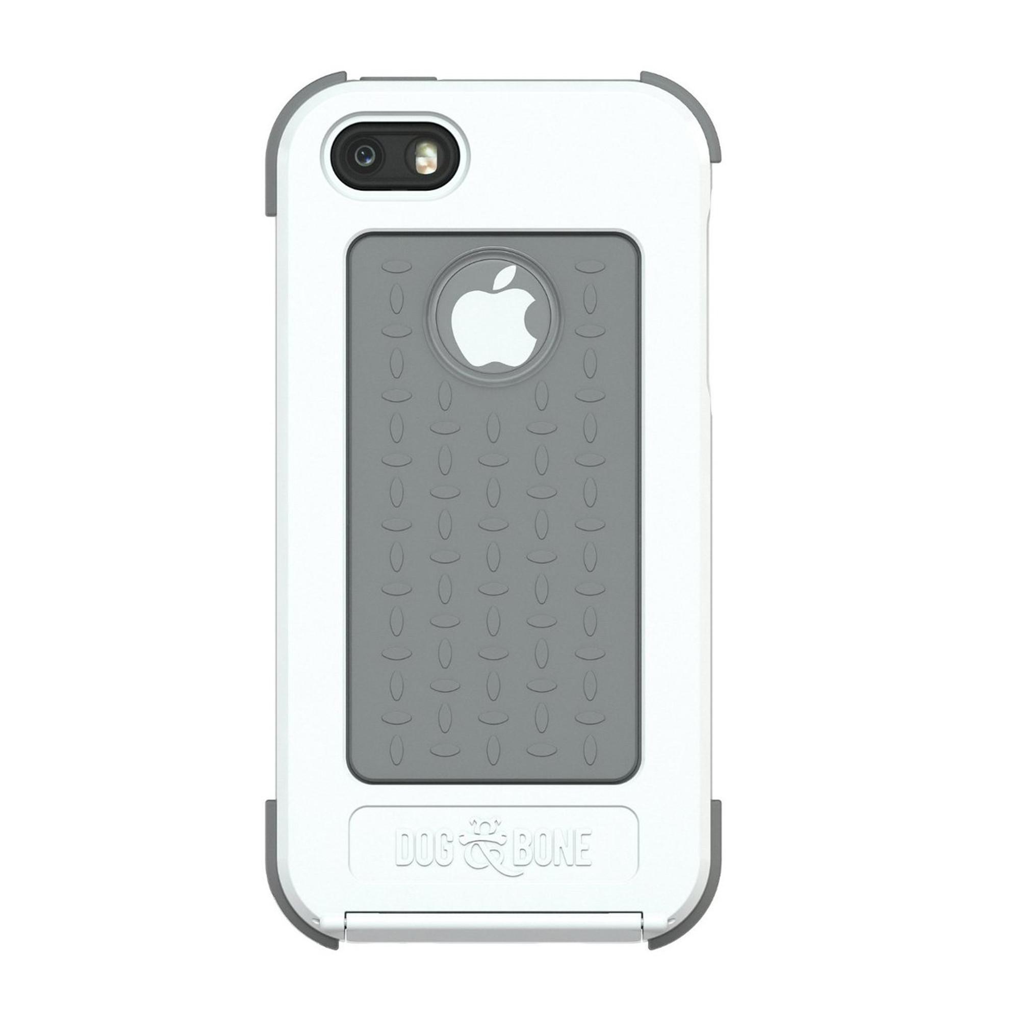 buy online 7eea6 ca264 Dog & Bone Wetsuit Waterproof Case for iPhone 5S / 5 - White / Grey