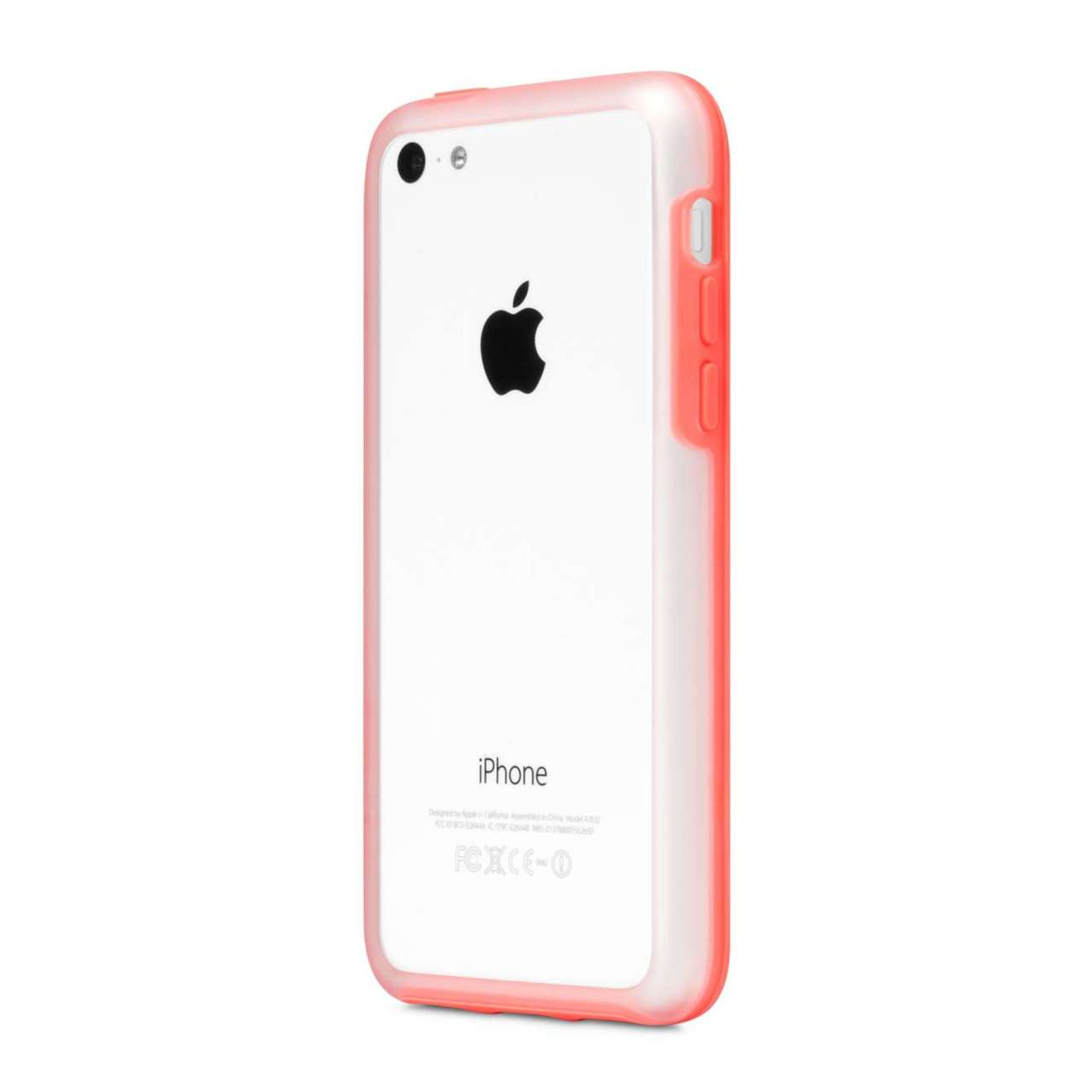 half off 8a22a 8a4a1 Incase Frame Case for iPhone 5C - Clear / Matte Pink