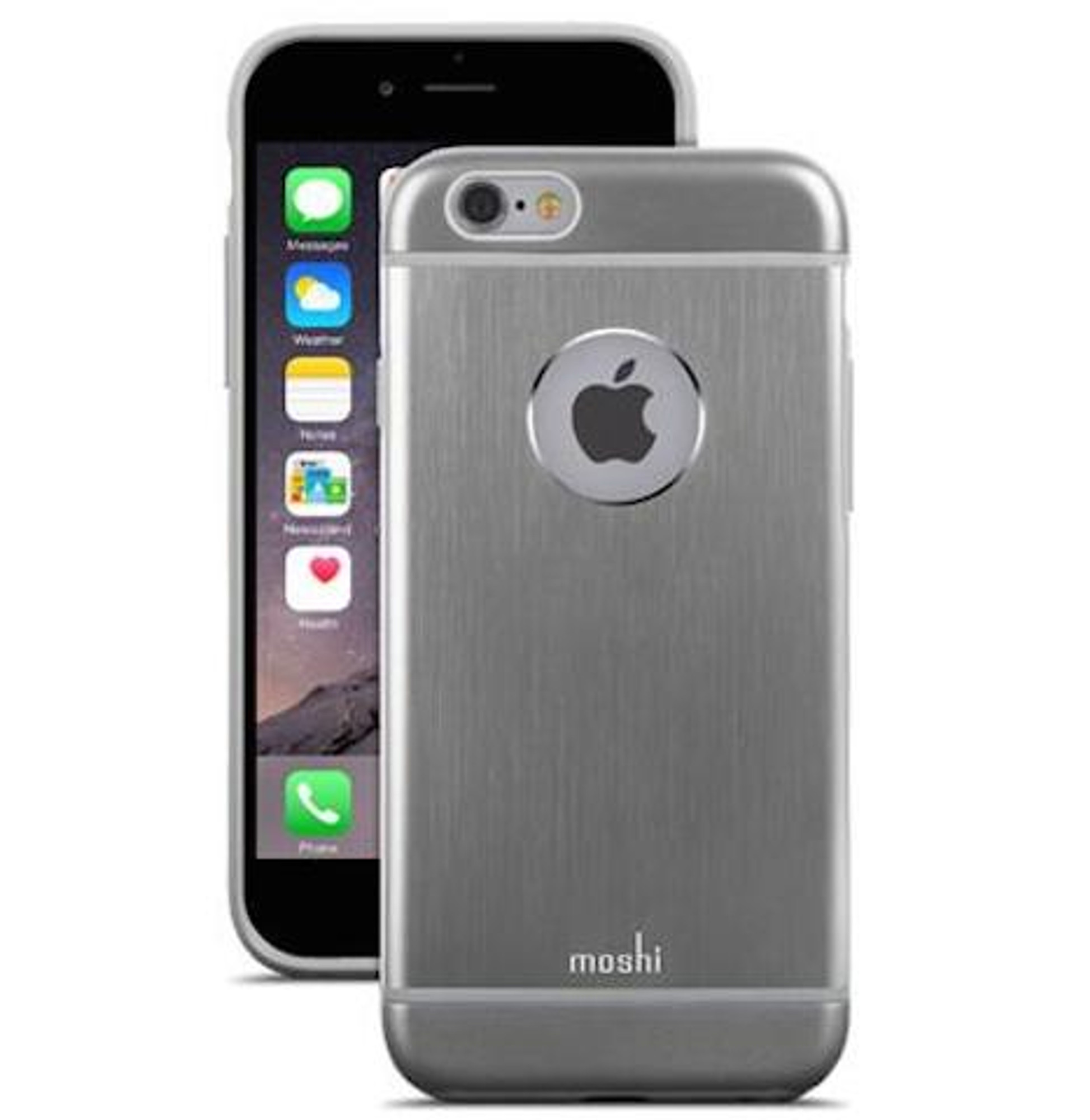 official photos 40e2d 8e38d Moshi iGlaze Armour for iPhone 6S / 6 - Gunmetal Gray