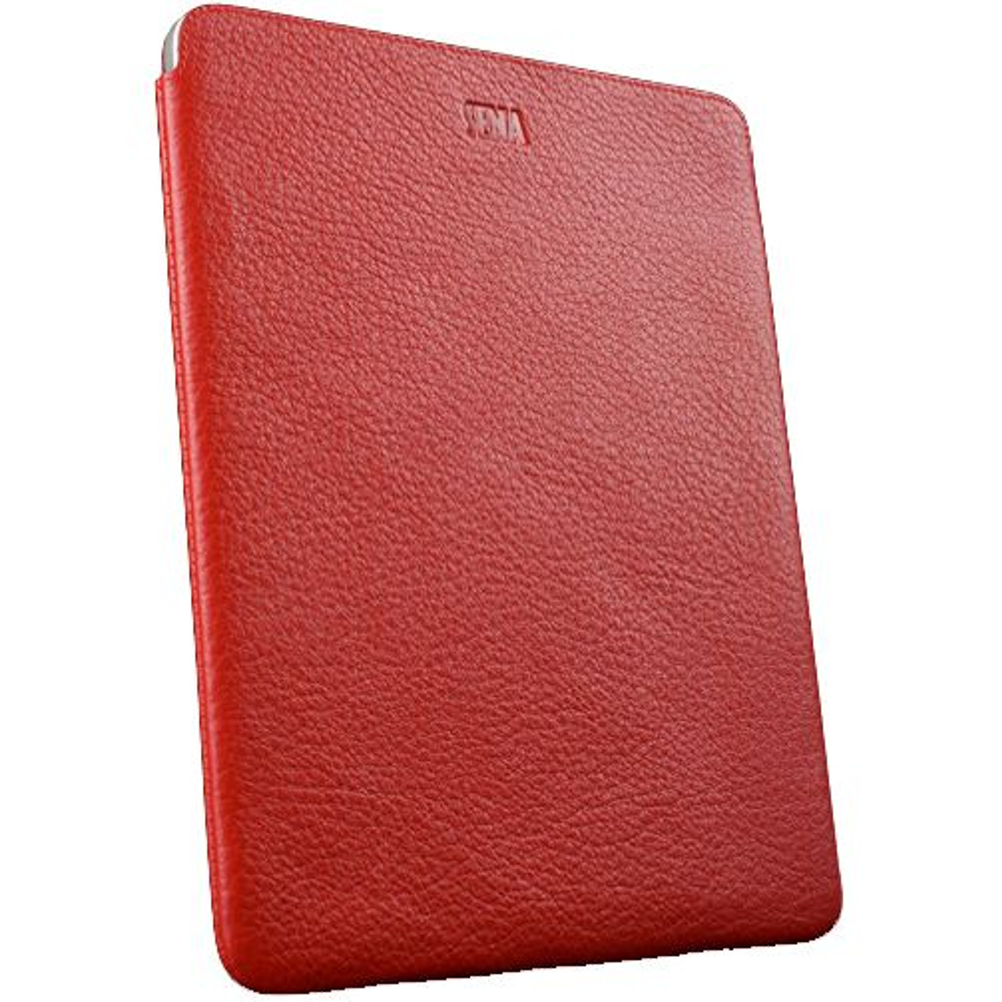 low priced c95ed db657 Sena UltraSlim Genuine Leather Cover for iPad 2 & 3 - Red