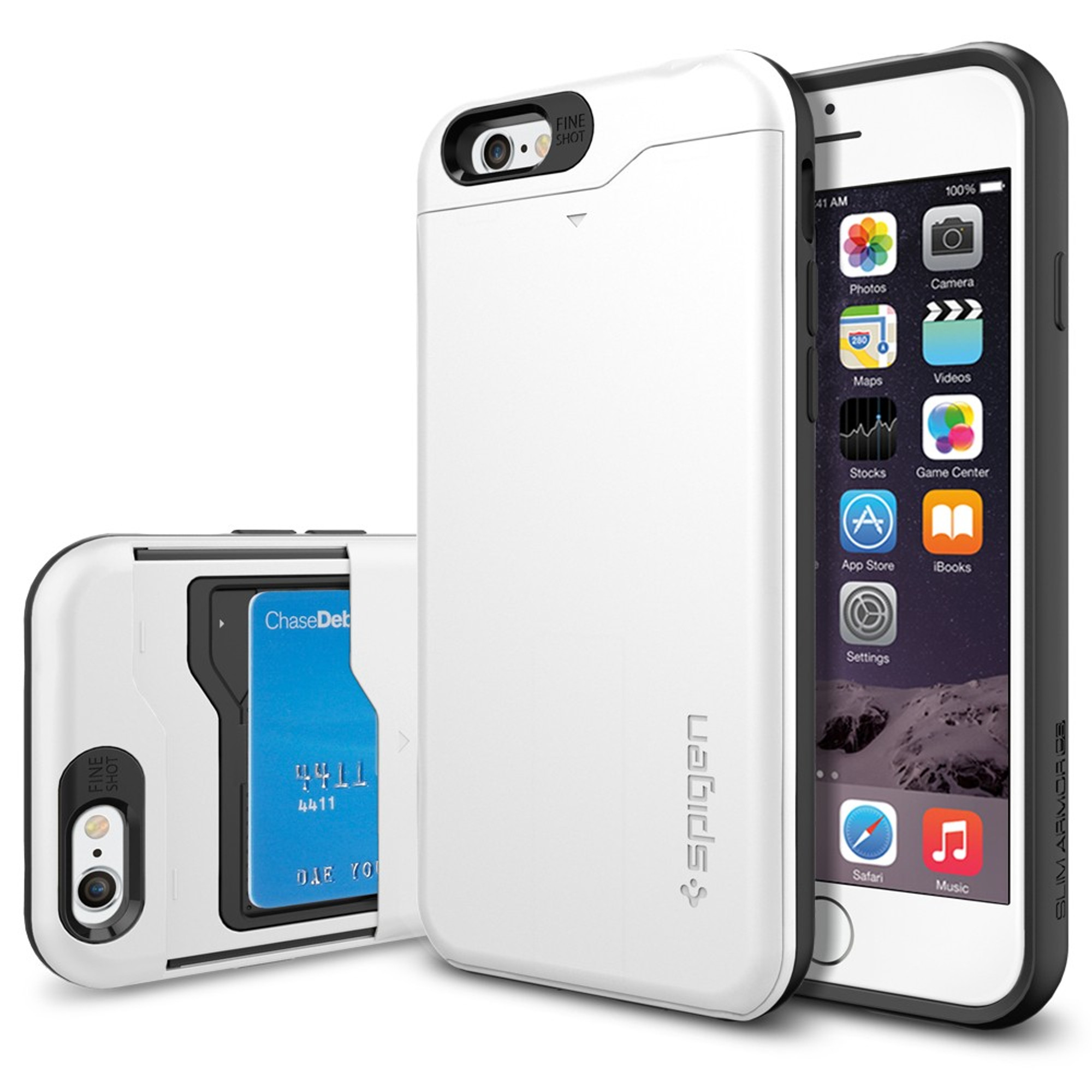 on sale 6351e 02cc9 Spigen iPhone 6S / 6 Case Slim Armor CS - Shimmery White