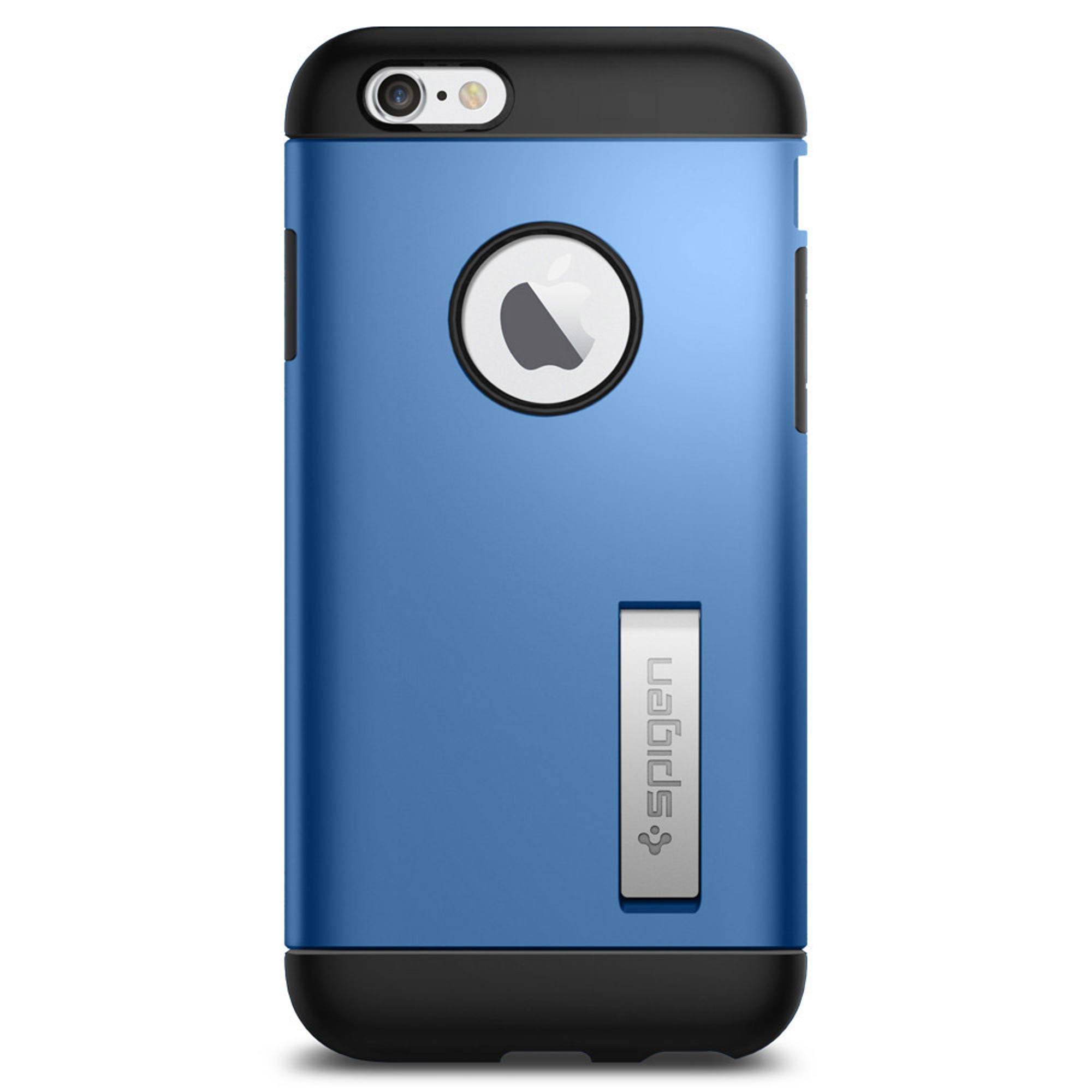 cheaper 62b06 81b3d Spigen Slim Armor Kickstand Case for iPhone 6S / 6 - Electric Blue