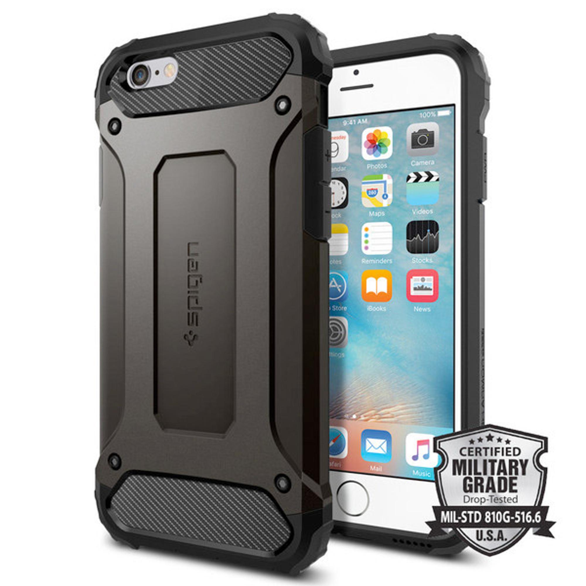 brand new 34755 d497f Spigen Tough Armor Tech Case for iPhone 6S / 6 - Black