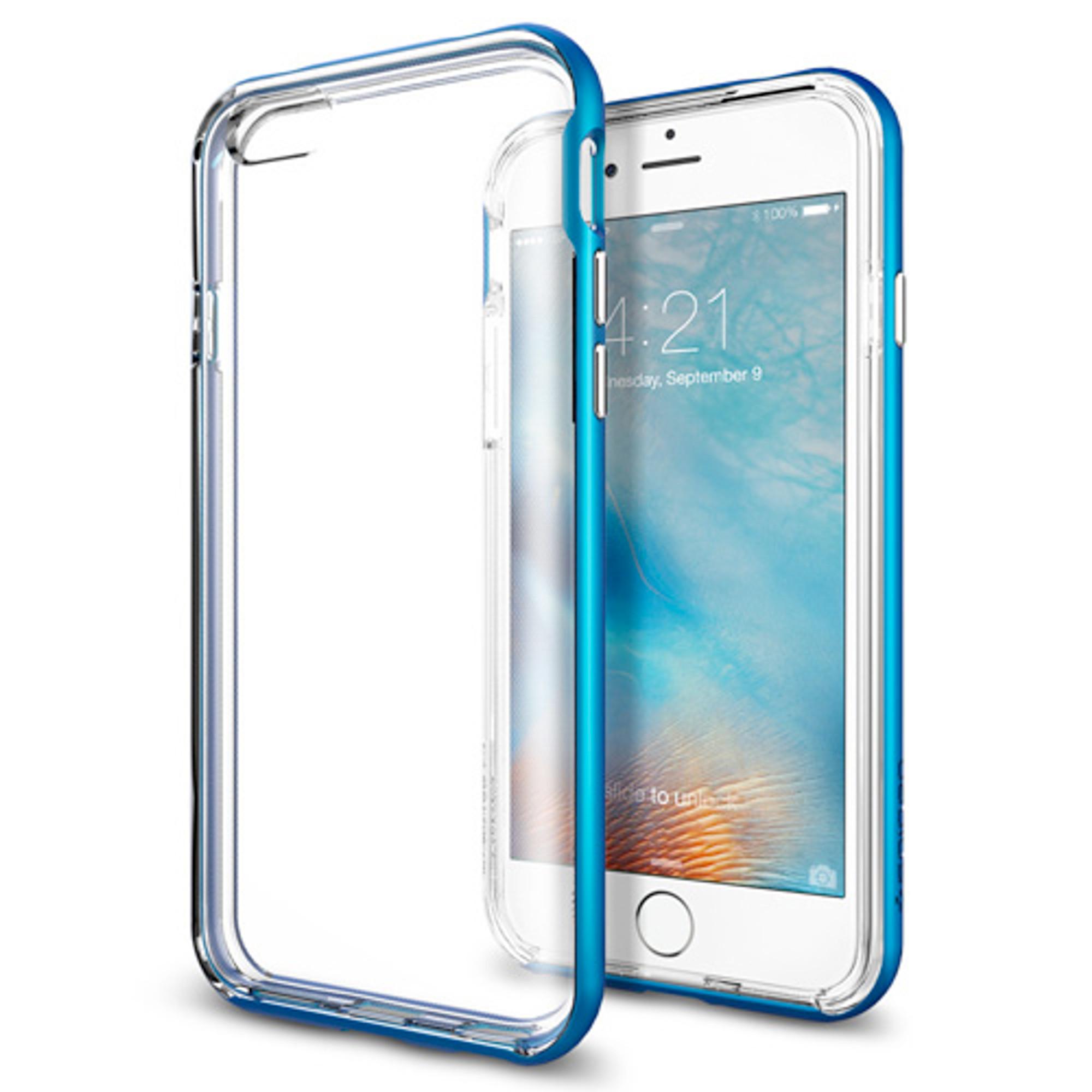 the latest 81137 163ee Spigen Neo Hybrid EX iPhone 6S / 6 Case - Electric Blue