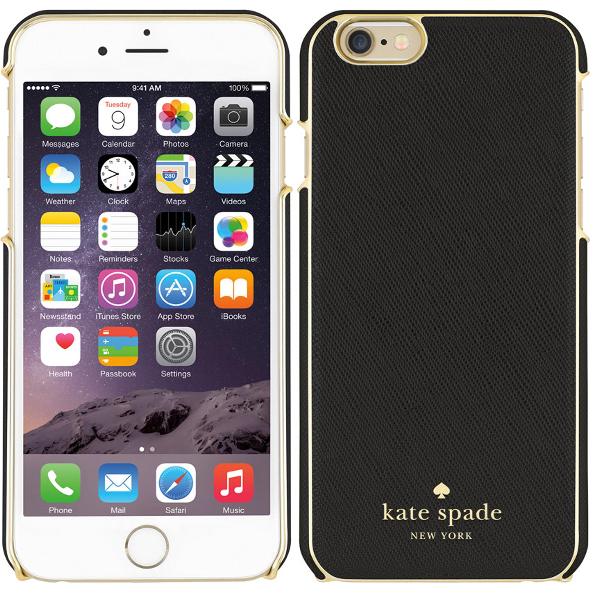 promo code d7ceb 9a95b Incipio Kate Spade New York Case for iPhone 6S Plus / 6 Plus - Wrap Black