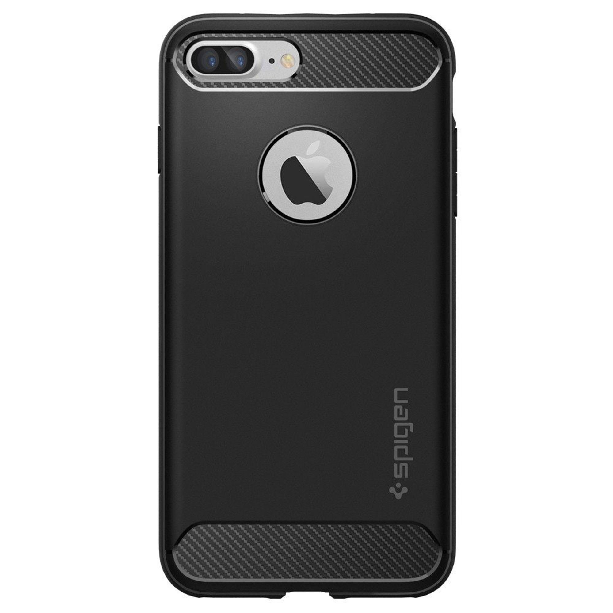 new styles 950ea 3362a Spigen Rugged Armor Case for iPhone 7 Plus - Black