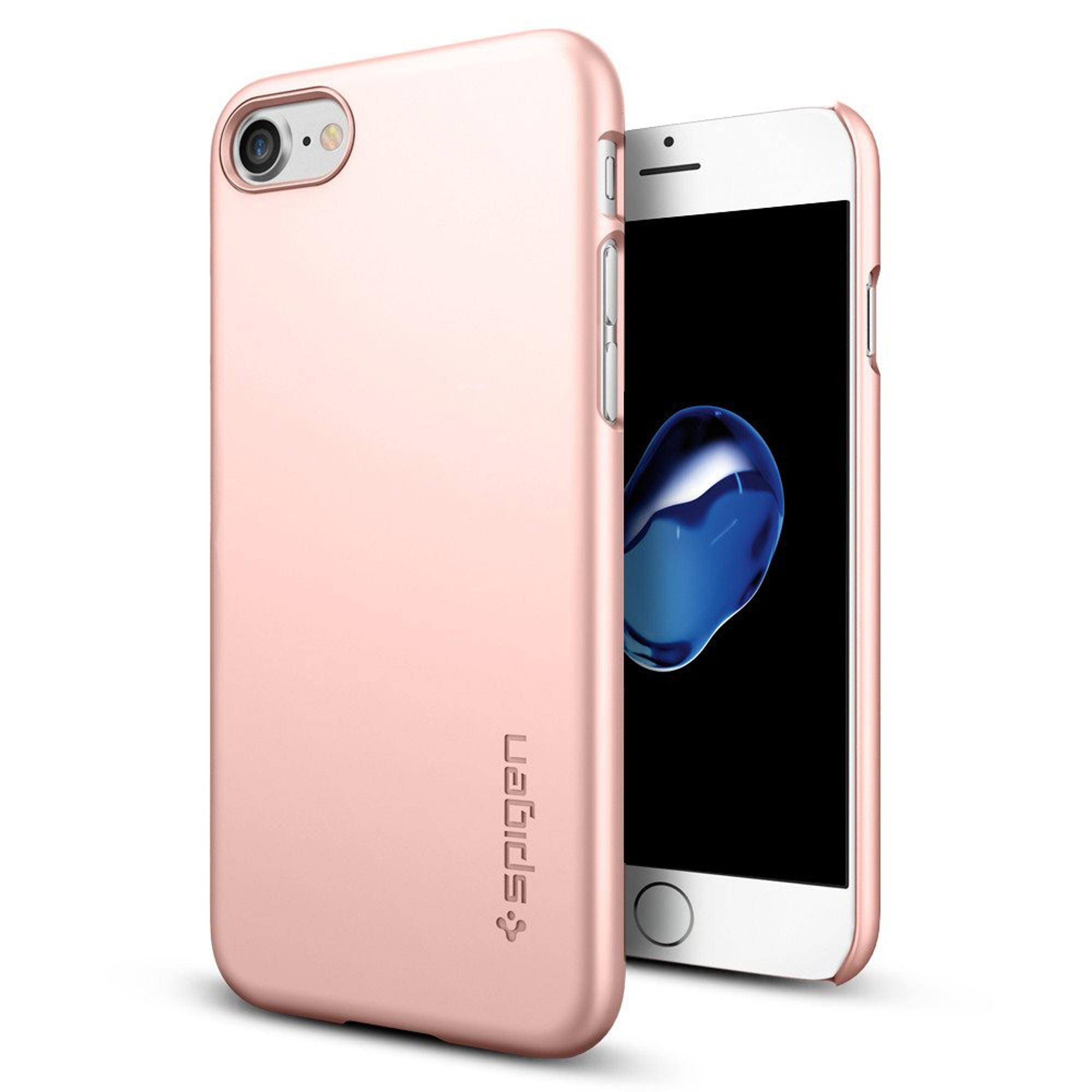 Spigen Thin Fit Case for iPhone 7 - Rose Gold
