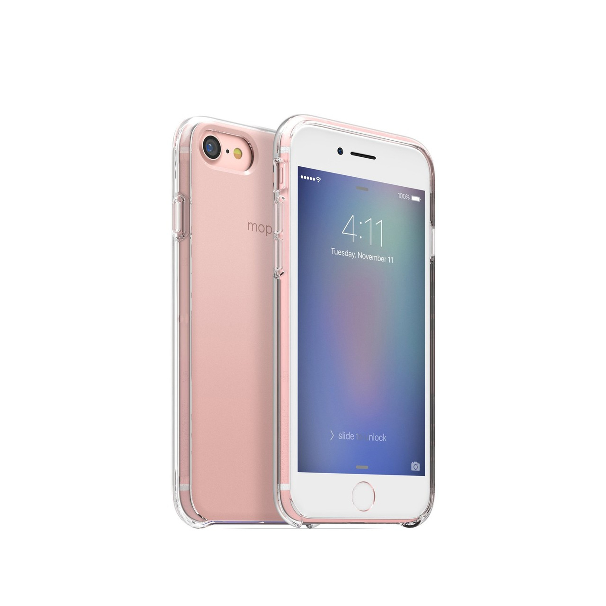 the best attitude c034c 76612 mophie Hold Force Base Case for iPhone 7 - Rose Gold