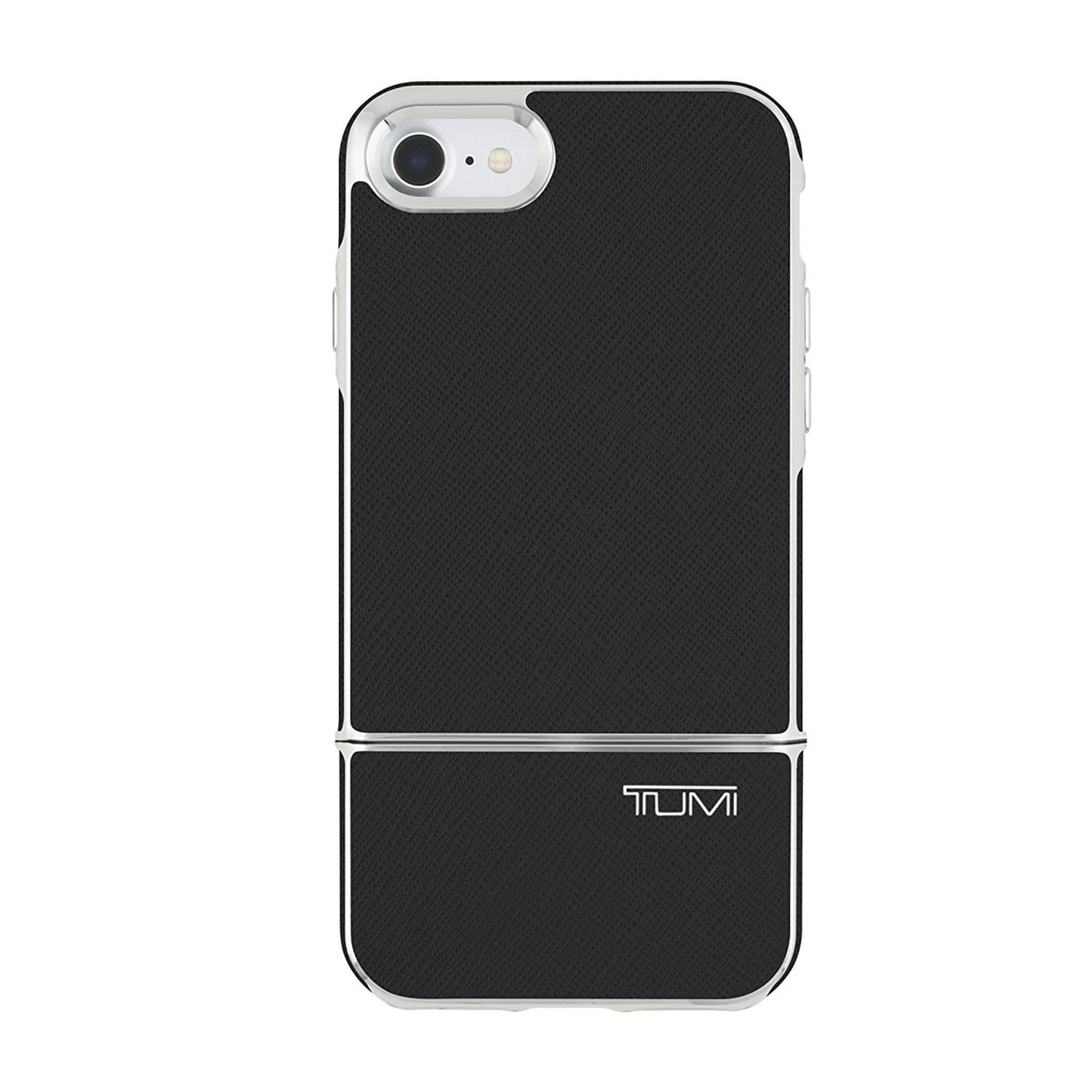 save off 923d7 08162 Tumi 2 Piece Slider Case for iPhone 7 Plus - Black Leather