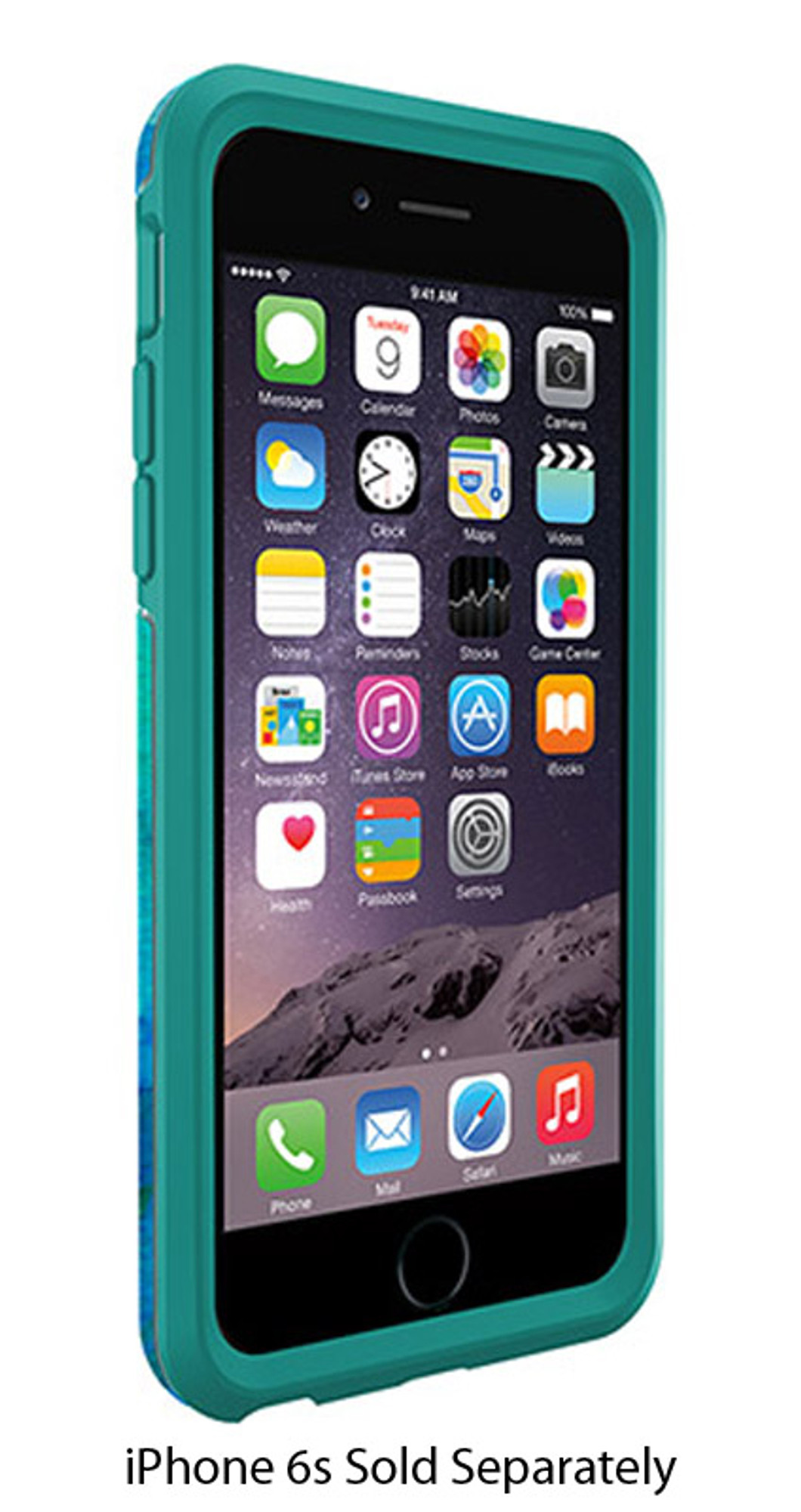 new style f2b88 fea3d Otterbox Symmetry Series Case For Iphone 6 & Iphone 6s - Floral Pond -  77-50333