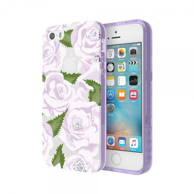 Incipio Wild Rose for iPhone SE - Purple