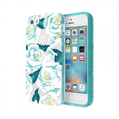 Incipio Wild Rose for iPhone SE - Teal