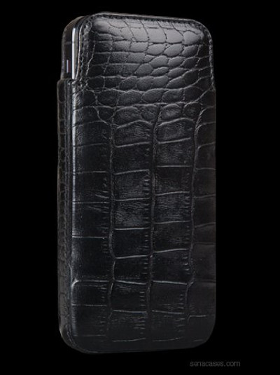 Sena Elega for iPhone 5S / 5 - Croco Black