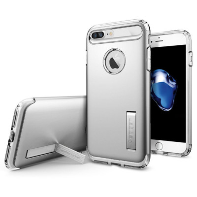 Spigen Slim Armor Case for iPhone 7 Plus - Satin Silver