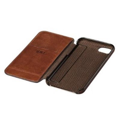 Sena Ultra Thin Wallet Book for iPhone 7 - Cognac