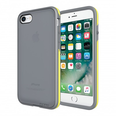 Incipio Performance Series Case for iPhone 7 - Charcoal Gray / Yellow