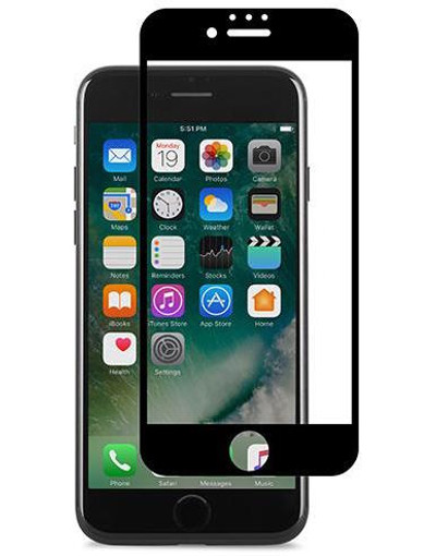Moshi iVisor AG Anti Glare Screen Protector for iPhone 7 - Black