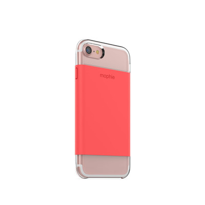 mophie Hold Force Base Case for iPhone 7 - Coral