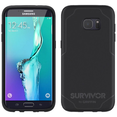 Griffin Journey Case for Galaxy S7 Edge - Black / Gray