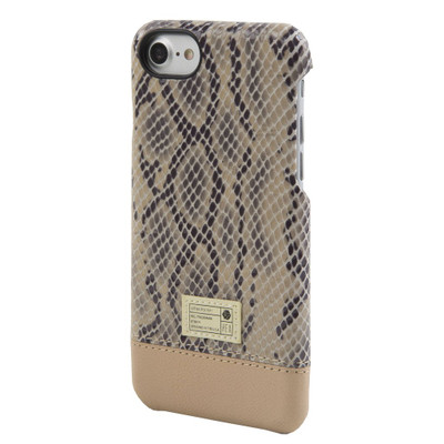 Hex Focus Case for iPhone 7 - Beige Snake Leather
