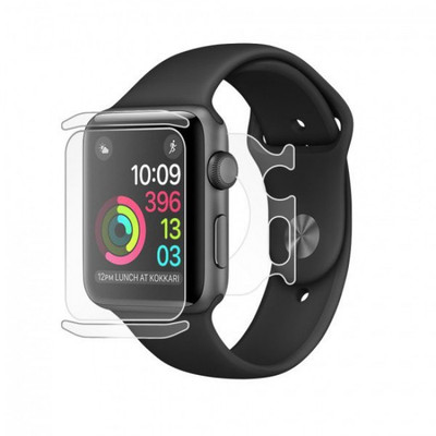 BodyGuardz UltraTough Clear Skins Full Body for Apple Watch Series 2/3 (42mm)