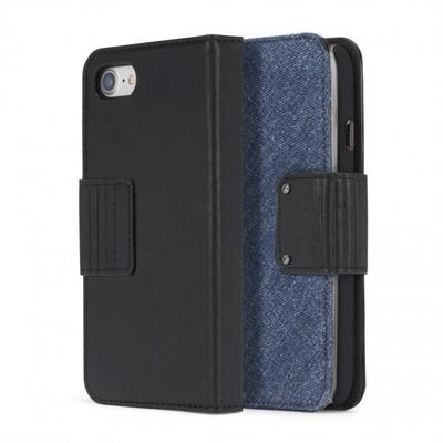 Diesel Folio Case for iPhone 8, iPhone 7 - Leather/Eagle Denim