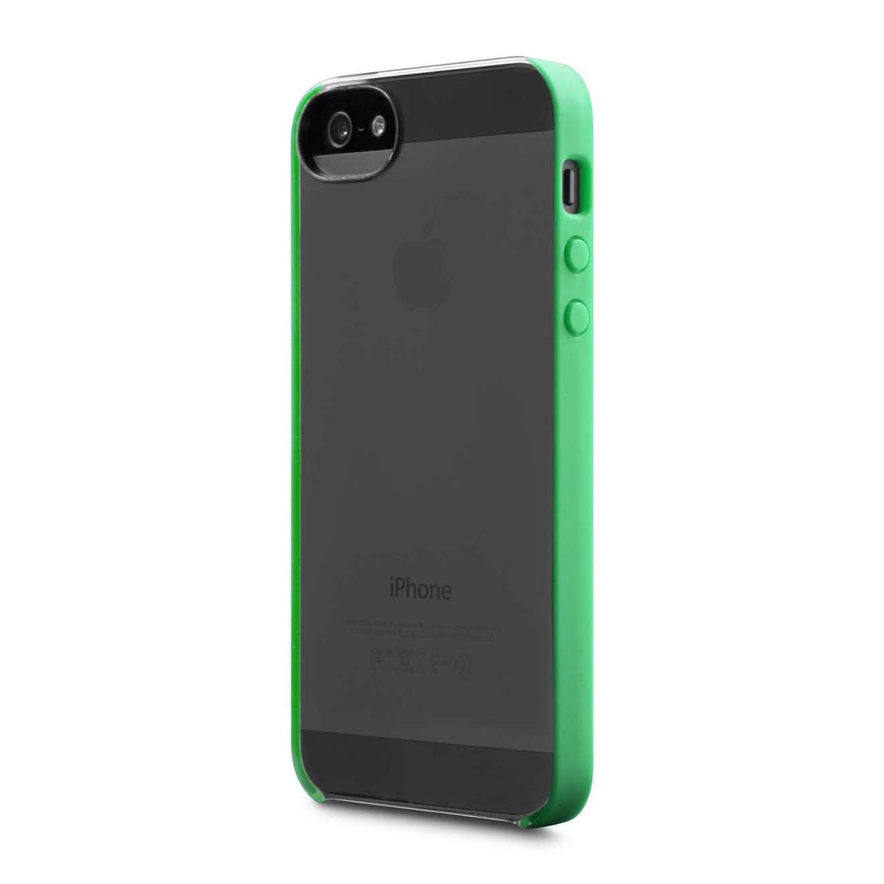 free shipping 712f3 a930b Incase Pro Snap Case for iPhone SE / 5S - Clear / Astrogreen