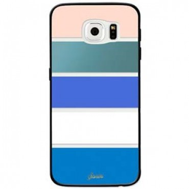 more photos 6e470 937b6 Sonix Clear Coat for Galaxy S6 Edge - Bondi Stripe