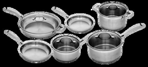 Stainless 10 Piece Complete Kitchen Set   Premium Steel