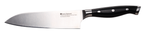"Swiss Diamond Prestige Santoku Knife 7"" - 18cm"