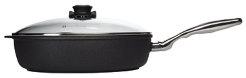 XD Induction Nonstick  Deep Saute Pan With Stainless Steel Handle & Lid - 32CM X 7.5CM 5.5L