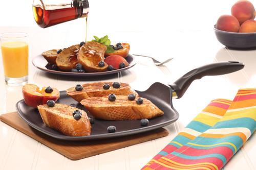 HD Nonstick SQUARE Breakfast omelette pancake Pan 28x28cm X 2.5cm