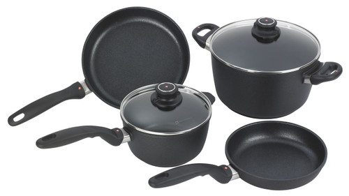 XD Nonstick Induction 6 Piece Set - 20&24cm FRYPANS, 20&24cm CASSEROLES + 2 LIDS