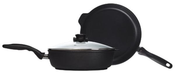 XD Induction  2 Piece Combo: Fry Pan 28cm and Saute Pan 28cm + 28cm lid