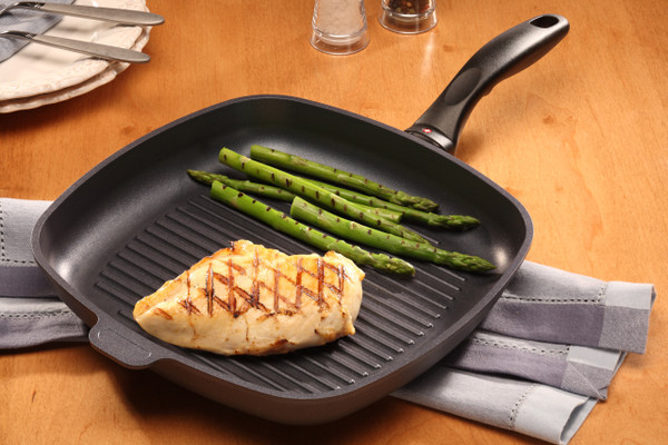 HD INDUCTION Nonstick Square Grill Pan - 28cm x 28cm x 4cm