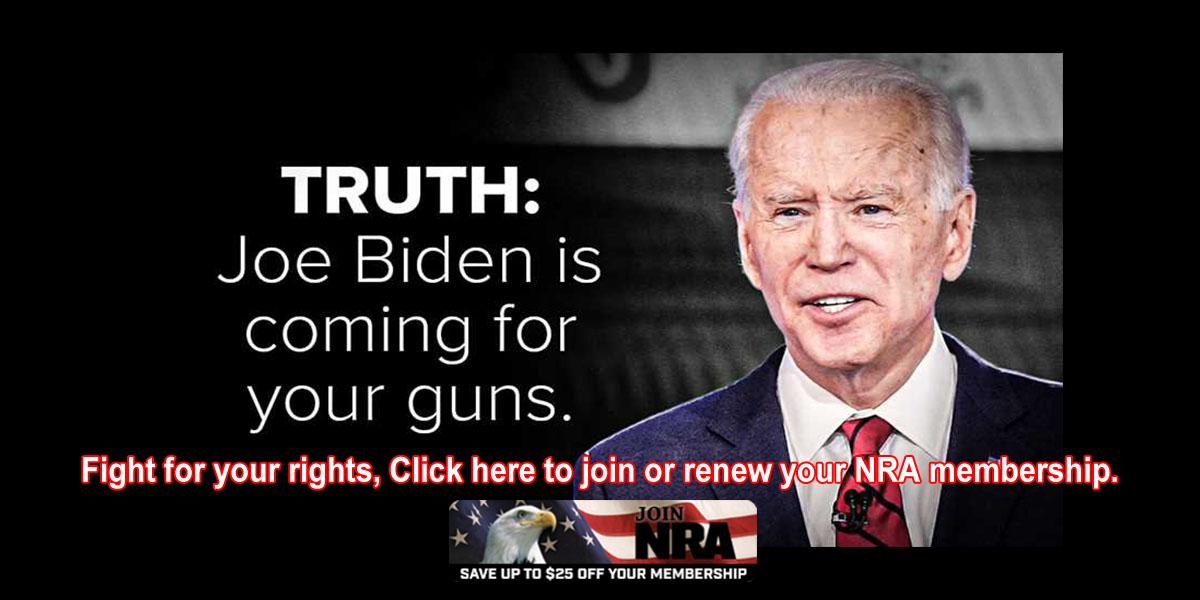Join NRA membershipJoe Biden