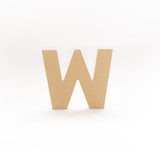 English Block Letter, Wood Letter