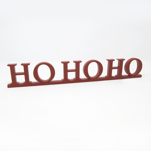 Word Art - HO HO HO