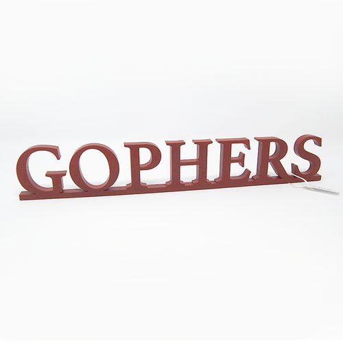 Word Art - Gophers (6 Colors)