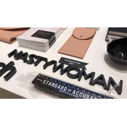 Word Art - Nasty Woman (Black)