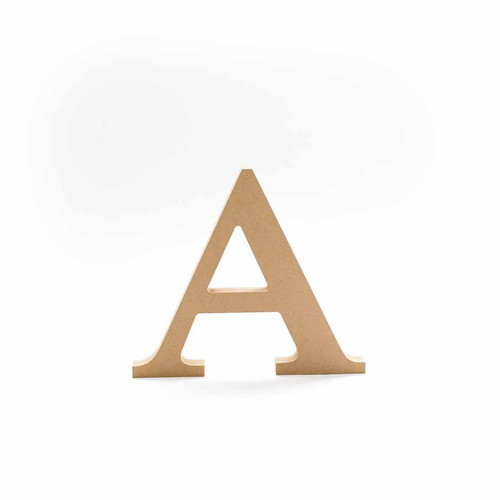 Greek Wooden Letter Alpha