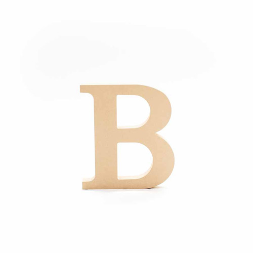 Greek Wooden Letter Beta
