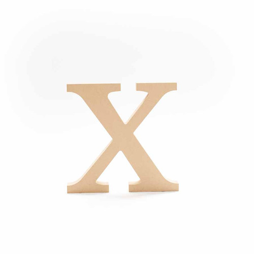 Greek Wooden Letter Chi