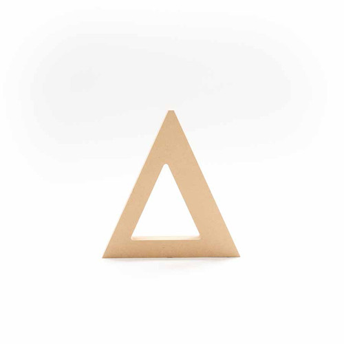 Greek Wooden Letter Delta