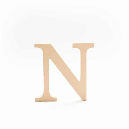 Greek Wooden Letter Nu
