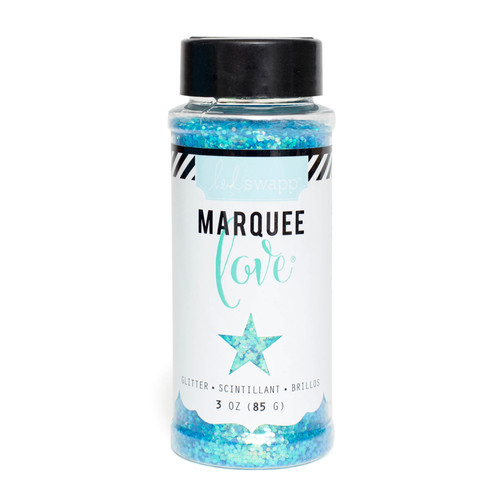 Heidi Swapp Marquee Love Glitter-Light Blue